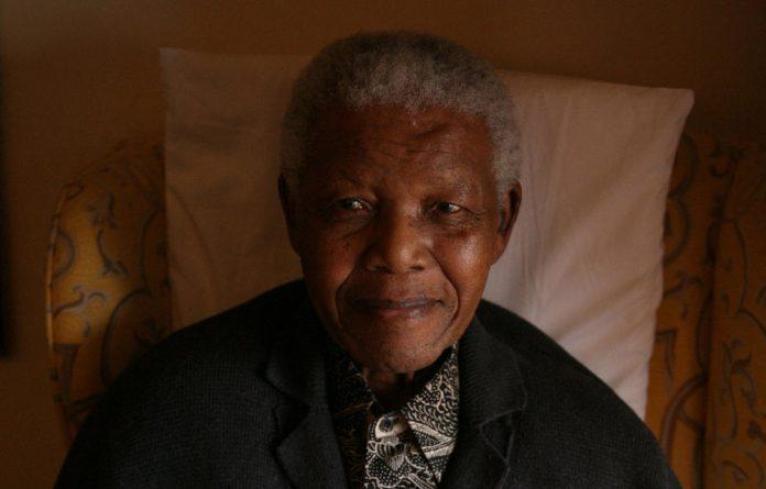 Former president Nelson Mandela is aging