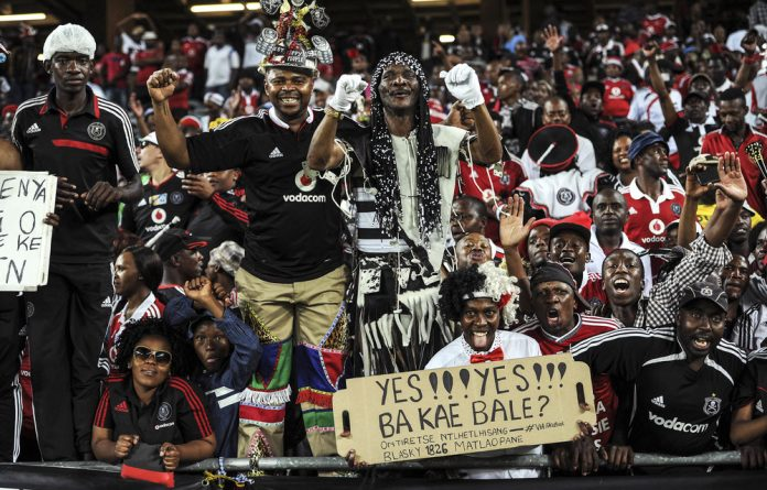 Many are not happy with the decision to incorporate red into the traditional black-and-white Orlando Pirates kit — but chairperson Irvin Khoza believes the colour may subconsciously intimidate Bucs' opponents.