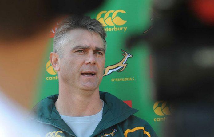 Springbok coach Heyneke Meyer.