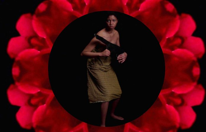 Ferocity and elegance: A scene from Dineo Seshee Bopape's film