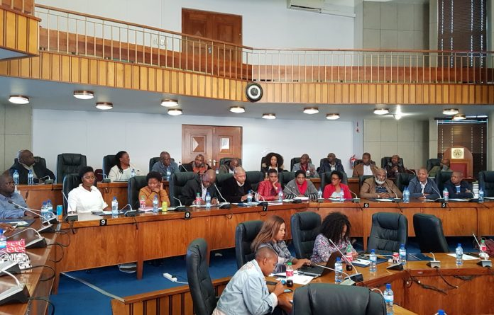 Contractors Meeting with North West Portfolio Committee on Roads