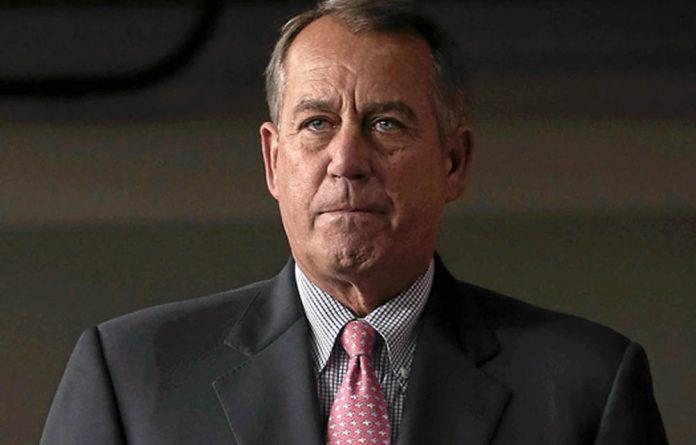 US Speaker of the House John Boehner is sticking to his guns.