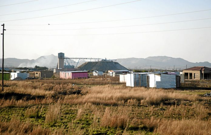 The Bapo ba Mogale have little to show for the wealth that lies beneath their land.