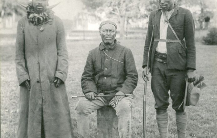 Many Zulu chiefs were loyal to the Natal government during the Bambatha rebellion. Hashi