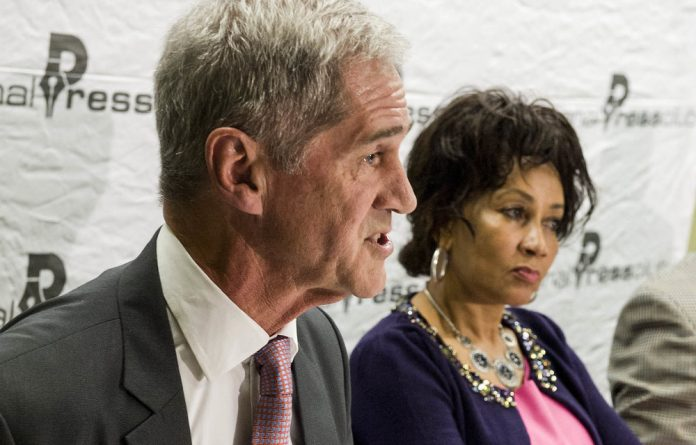 Offended: Minister Lindiwe Sisulu says it's a problem that Roelf Meyer's organisation met the DRC's opposition parties only.