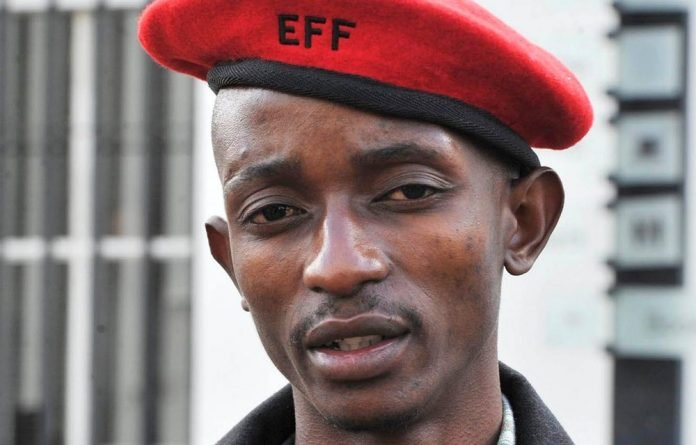 Innocent: EFF North West secretary Papiki Babuile says his prosecution was politically motivated. Photo: Lucky Nxumalo/Gallo Images/City Press
