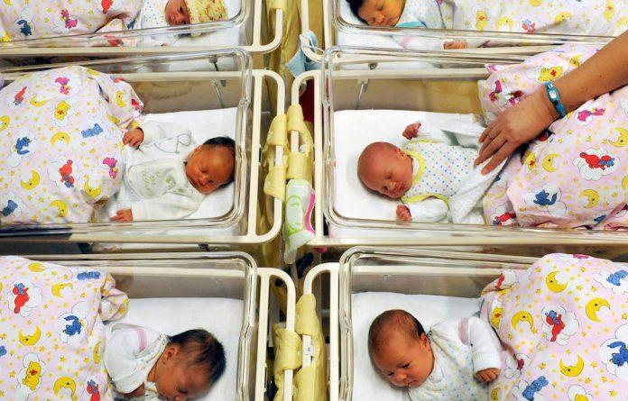 Newborns.