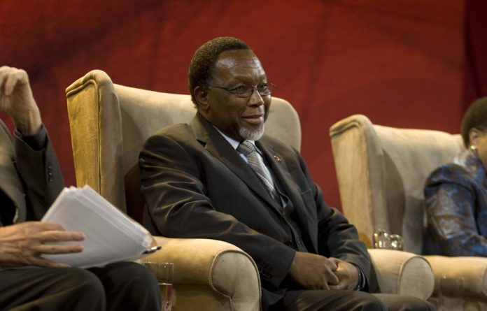 In the hot seat: Kgalema Motlanthe's life and leadership style is assessed in Harvey's book.