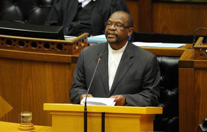 ANC Chief Whip Dr Mathole Motshekga