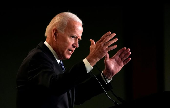 Biden has had a reputation in Washington for awkwardly touching the wives
