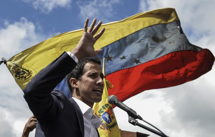 Venezuela's National Assembly head Juan Guaidó has declared himself the country's acting president