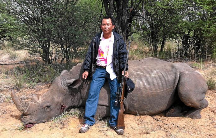 Chumlong Lemtongthai is the most senior figure in a smuggling ring ever convicted in South Africa.