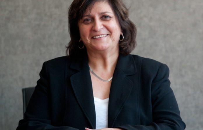 Former Mail & Guardian editor Angela Quintal.