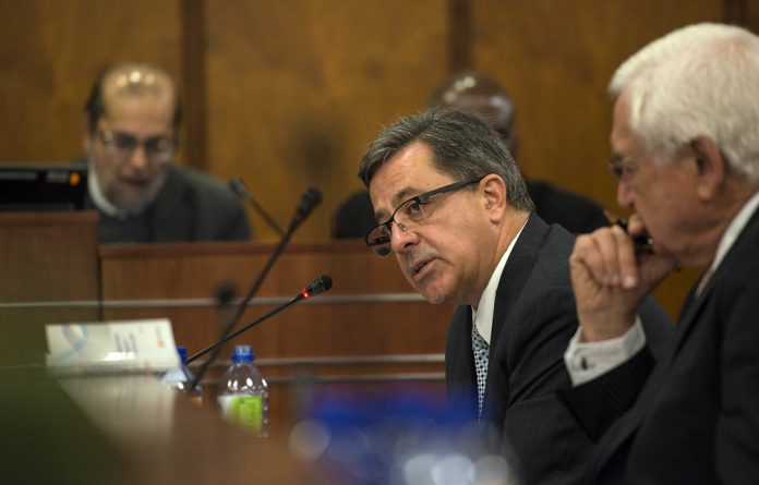Steinhoff's disgraced former leader spoke in Parliament as if he'd done no worse than spill a cup of tea.