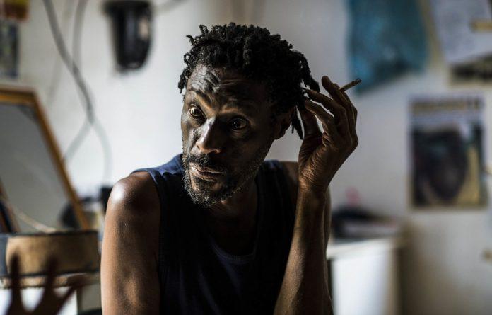 Innovator: Smiles Mandla Makama at his home in Msunduza