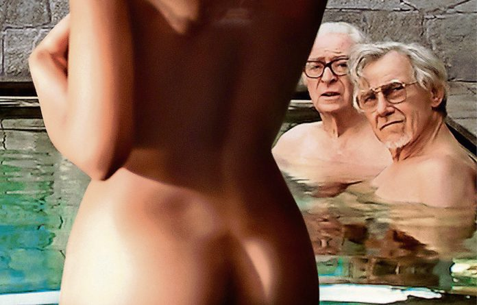 Michael Caine and Harvey Keitel in Paolo Sorrentino's Youth.
