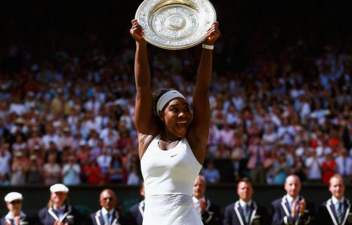 Serena Williams beat Spain's Garbine Muguruza in 2015 to win Wimbledon for the sixth time and complete the 'Serena Slam' as the holder of all four major tennis titles.