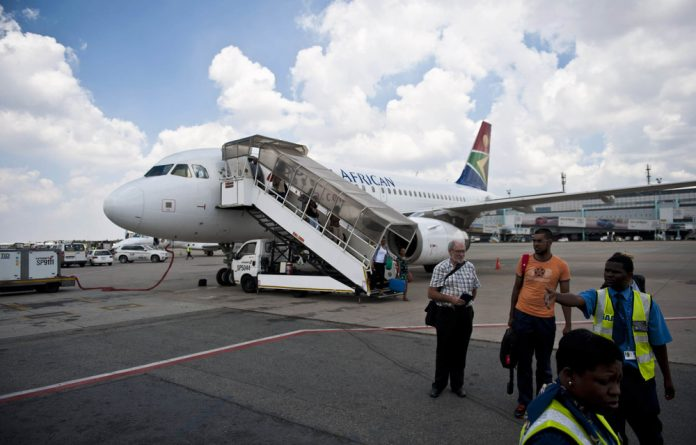 Wings clipped: SAA has tightened up on its procedures for checking pilot licences after a pilot was found to have forged one of his documents. Photo: Delwyn Verasamy