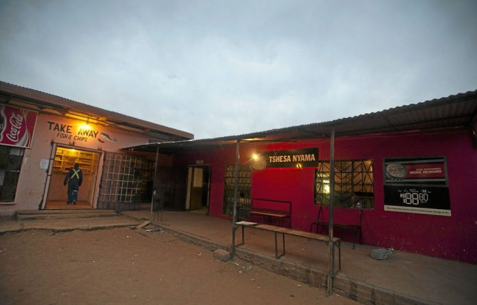 The Tshesa Nyama tavern in Seoding village where Thapelo Makhutle got involved in an argument with a man about his sexual orientation on the night he was murdered.