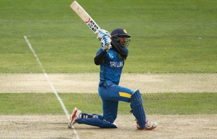 Sangakkara is the leading scorer at this World Cup with 496 runs from six games.