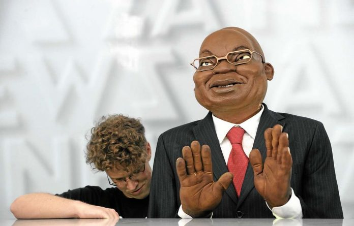 There have been calls for a law against insulting South Africa's president.