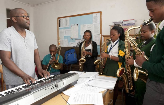 Music to their ears: Outreach programmes conducted by the jazz festival and several other organisations have benefited eager young students from disadvantaged communities