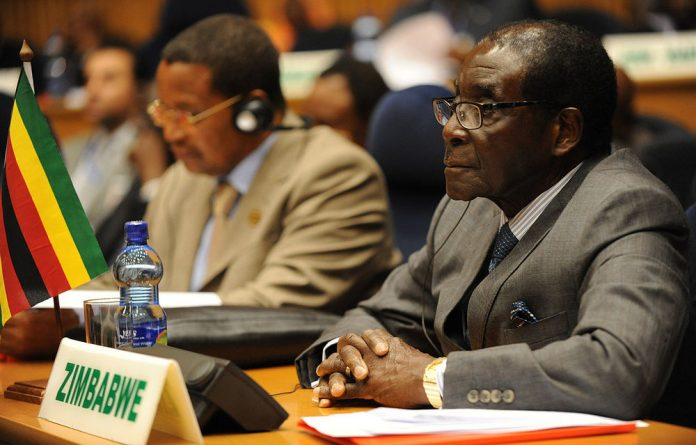 Mugabe's government was bankrupt as the rival Movement for Democratic Change won the most votes in parliamentary and first-round presidential elections.