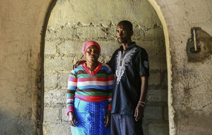Rosina and James Komape