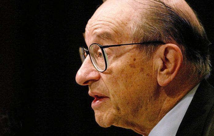 Alan Greenspan said the rule of law helps economies to grow.