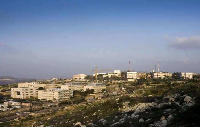 The development of Ariel college on the West Bank is a clear reflection of Israel's intention to stay put.
