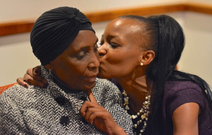 Mndazi Betty Maluleka sometimes shows a flicker of recognition for her daughter
