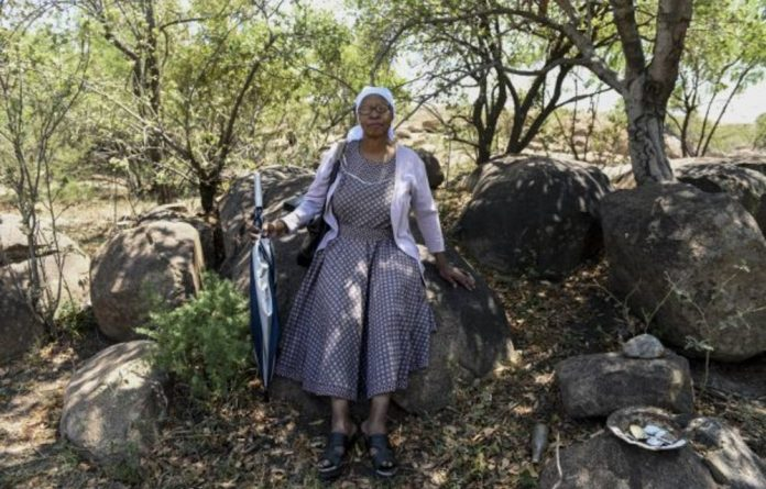 Cathrine Molope yearns to return and to once again have the peace and serenity of feeling 'at home'.