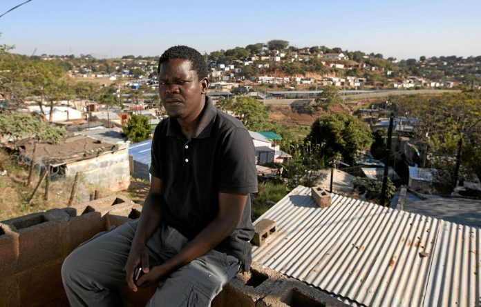 Community activist Bheki Buthelezi says the residents are concerned about poor service delivery