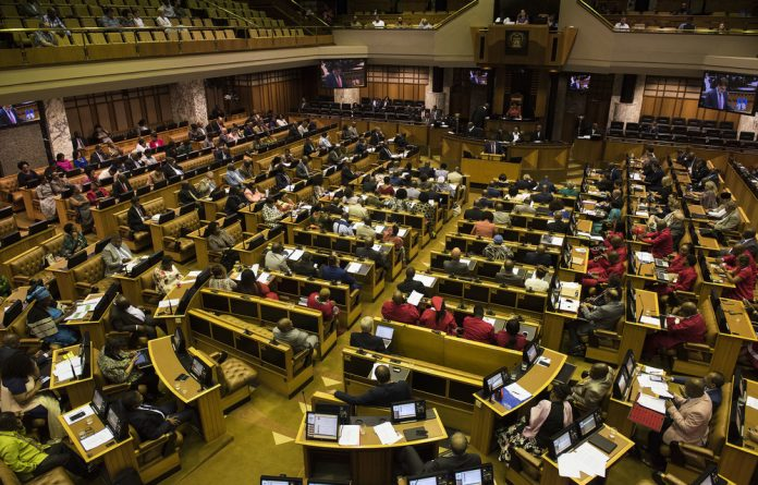 The parties opposing an amendment are likely to raise the matter of the process the committee followed in dealing with the hundreds of thousands of written submissions it received.