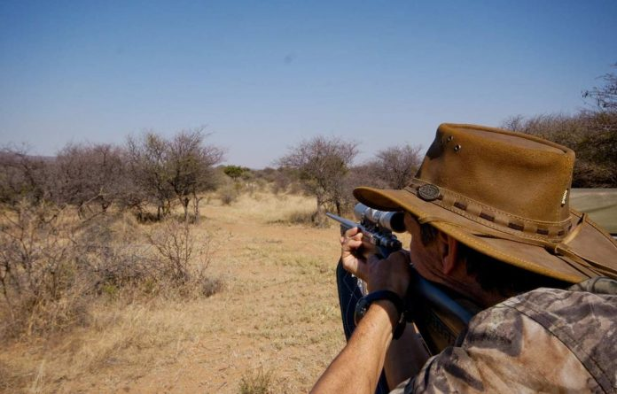 Environmental Affairs Minister Edna Molewa says the hunting industry has contributed millions to the country's economy in past years.