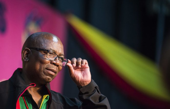 Unattainable: Cosatu's general secretary Bheki Ntshalintshali