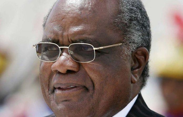 Namibian President Hifikepunye Pohamba.