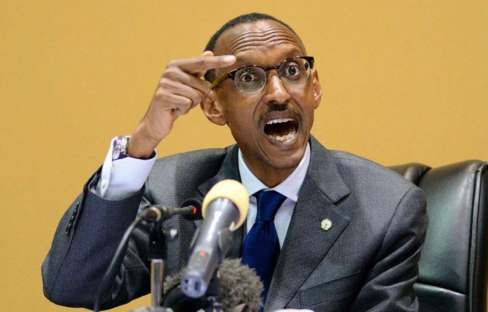 Rwanda President Paul Kagame.