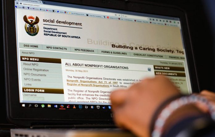 Caught in the web: Nonprofits are continually struggling with online registration and to upload documents.