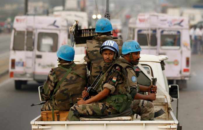 UN 'blue helmets'