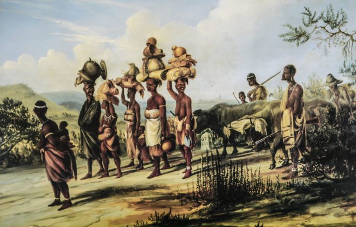 Forebears: A Thomas Baines painting