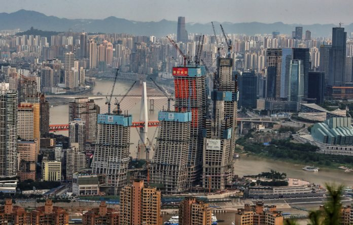 Big boost: China has received a $350-million loan from the Brics bloc's New Development Bank to build a shopping mall in Chongqing as part of its small cities sustainable development programme.