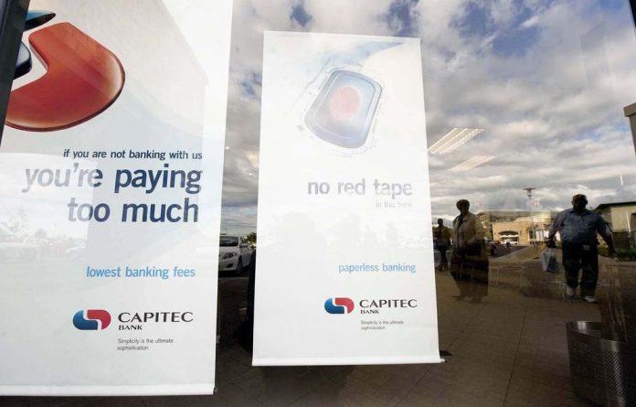 Capitec Bank's share price took off