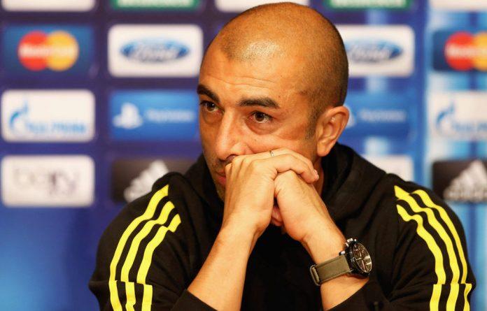 Chelsea manager Roberto Di Matteo.