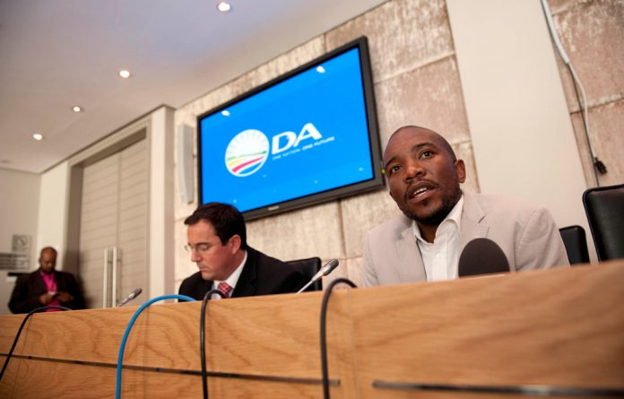 DA parliamentary leader Mmusi Maimane says Mbete has destroyed her credibility as the speaker