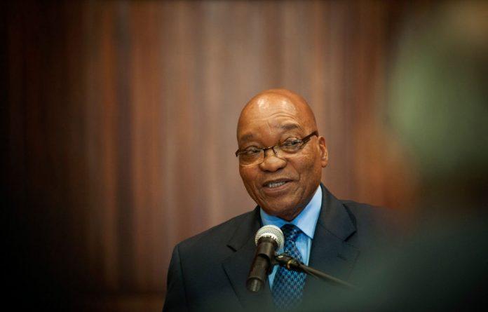 President Jacob Zuma.