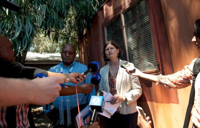 Commissioners Vusi Pikol and Kate O'Regan have spent two days on in loco inspections.