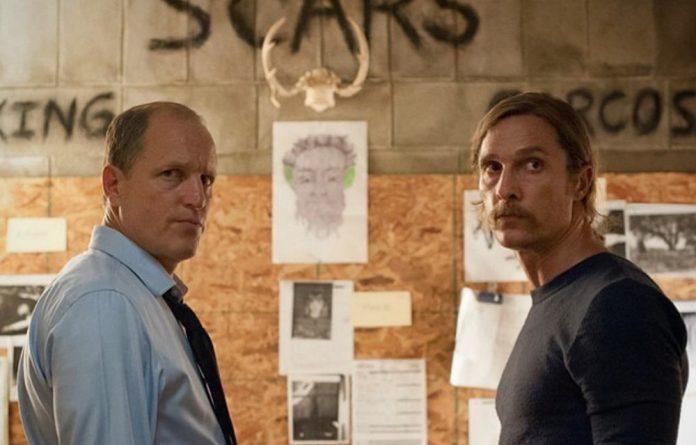 Woody Harrelson and Matthew McConaughey in 'True Detective'.