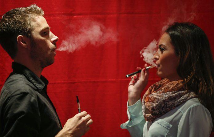 Health Minister Aaron Motsoaledi says he wants to outlaw e-cigarettes.