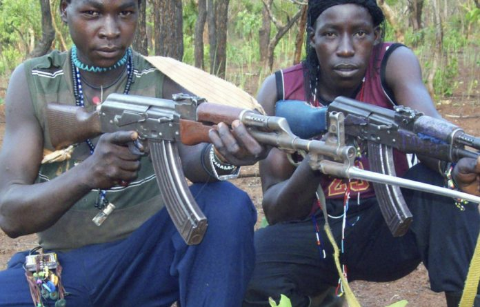 LRA fighters now roam the forest regions of CAR